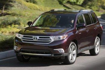 Обновленный Toyota Highlander начнут продавать уже со следующего года