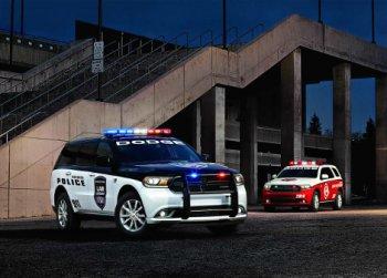 Специальная версия Dodge Durango для пожарных и полиции