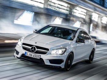 Городская версия гоночного Mercedes CLA
