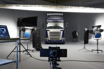 Scania представила совершенно новый тягач Streamline