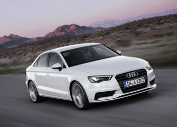 Audi А3 в ожидании седана