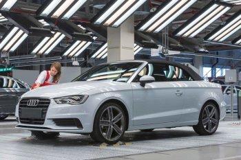 Кабриолет Audi A3 показан производителями официально