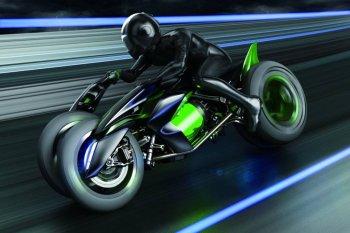 Транспорт будущих поколений – Kawasaki Concept J 2013