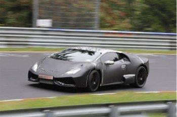 Шпионские фото Lamborghini Cabrera