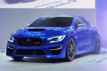 Новая Subaru WRX STi дебютирует на автосалоне в Детройте