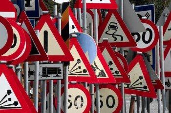 Очередная неразбериха с дорожными знаками
