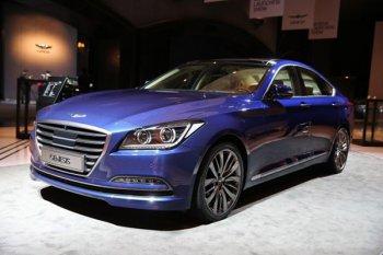 Корейцы представили седан Hyundai Genesis второго поколения