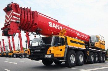 Автокраны Palfinger Sany приходят на рынок СНГ