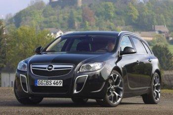 Opel Insignia OPC – спортивный универсал немецкого производства
