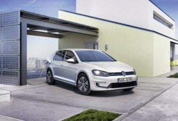 Немцы создали электрический хэтчбек Volkswagen e-Golf