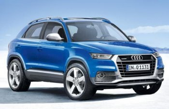 Компания Audi выпустит новый компактный кроссовер