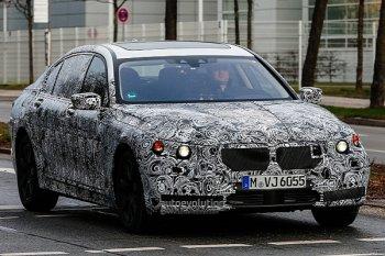BMW «седьмой» серии в объективах фотокамер