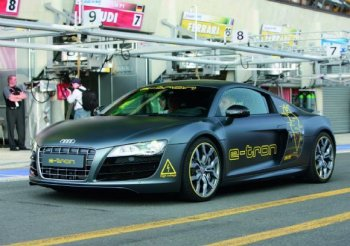 Электромобиль Audi R8 пойдет в серию