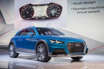 Новый концепт от компании Audi