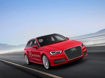Гибрид автомобиля Audi А3 найдет своих владельцев в России