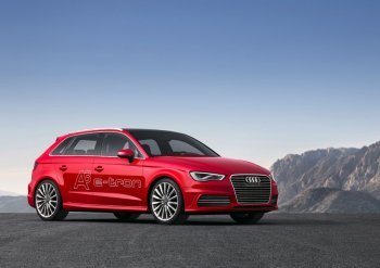 Новый автомобиль Audi A3 e-tron скоро появится в нашей стране