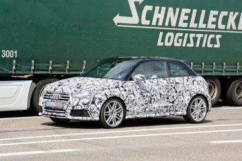 Первые фотографии Audi S1