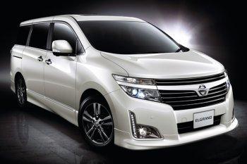 Обновленная версия Nissan Elgrand