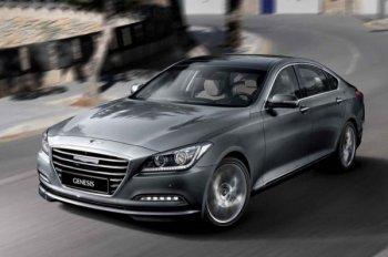Седаном нового поколения Hyundai Genesis можно управлять с помощью очков
