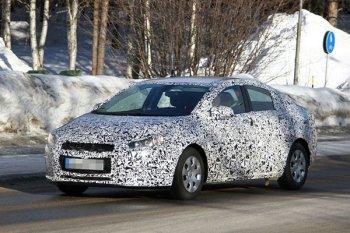 Второе поколение Chevrolet Cruze проходит зимние тесты