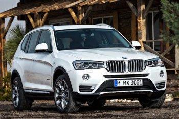 Обновленный BMW X3 предстал перед публикой