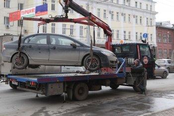 В Москве создается служба для перемещения автомобилей на платных парковках