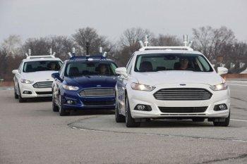 Автоматизированный автомобиль от Ford
