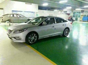 Первые шпионские фото Hyundai Sonata