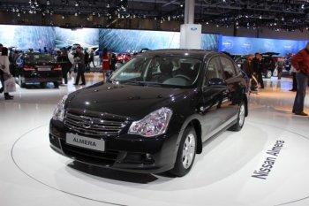 Компания Nissan обновила седан Almera