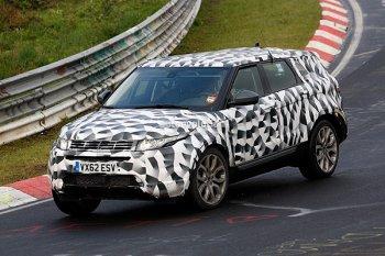 Land Rover Freelander был заснят на тестах