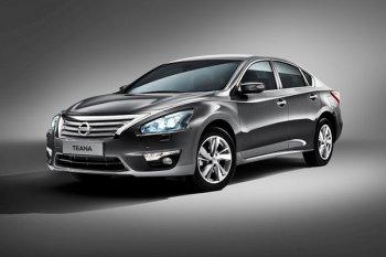 Официальное представление автомобиля Nissan Teana для российского рынка