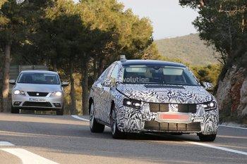 Начались тесты нового Volkswagen Passat