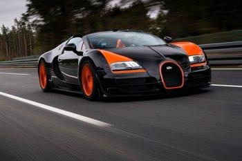 Компания Bugatti будет продавать подержанные суперкары Veyron