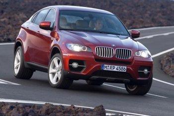 Новый BMW X6 в Россию привезут в августе