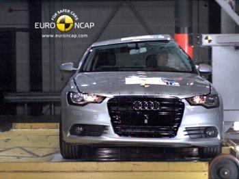 Audi получила высшую оценку безопасности