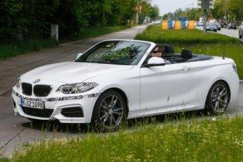 Шпионы рассекретили кабриолет BMW 2-Series