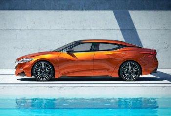 Серийный Nissan Maxima почти не отличается от концепта