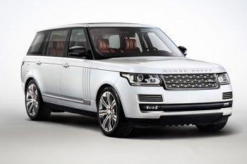 Появился Range Rover Hybrid Long