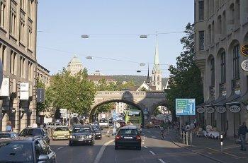 Путешествие на авто по Цюриху