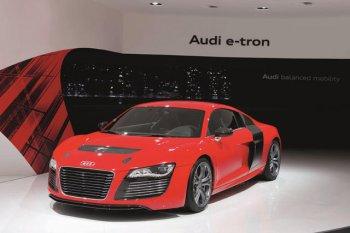 Audi работает над линейкой высокомощных электрических спорткаров