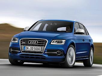 Появился юбилейный кроссовер Audi SQ5