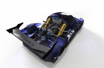Гоночный спорткар RXC получил водородную силовую установку