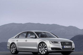 Гибридный Audi A8 получит турбированный мотор