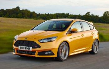 Рассекречен обновленный Ford Focus ST