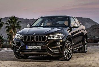 BMW X6 появится в России перед новым годом