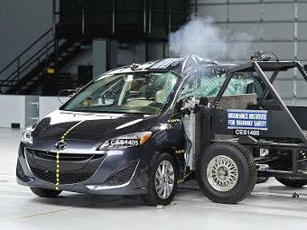 Несколько машин провалили краш-тест в Америке