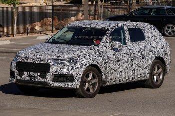 Компания Audi в 2016 году представит заряженные Q7