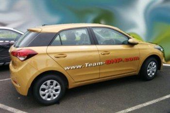 Появились шпионские фото Hyundai i20 следующего поколения
