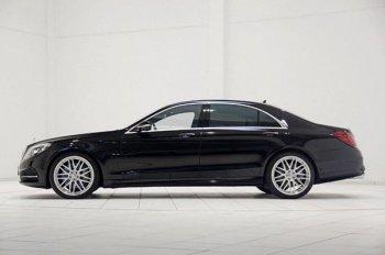 Компания Mercedes-Benz продемонстрировала бронированные седан «S»-класса