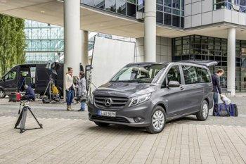 Прошло плановое обновление Mercedes-Benz Vito